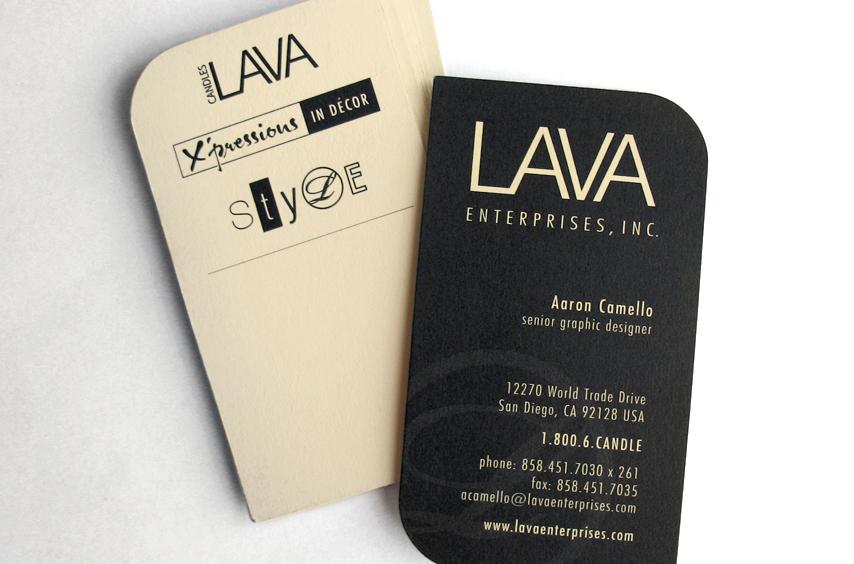 LAVA: Business Card