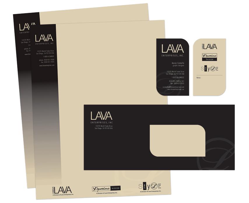 LAVA: Stationery