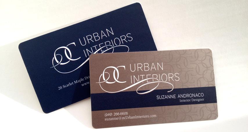 OC Urban Interiors: Business Card