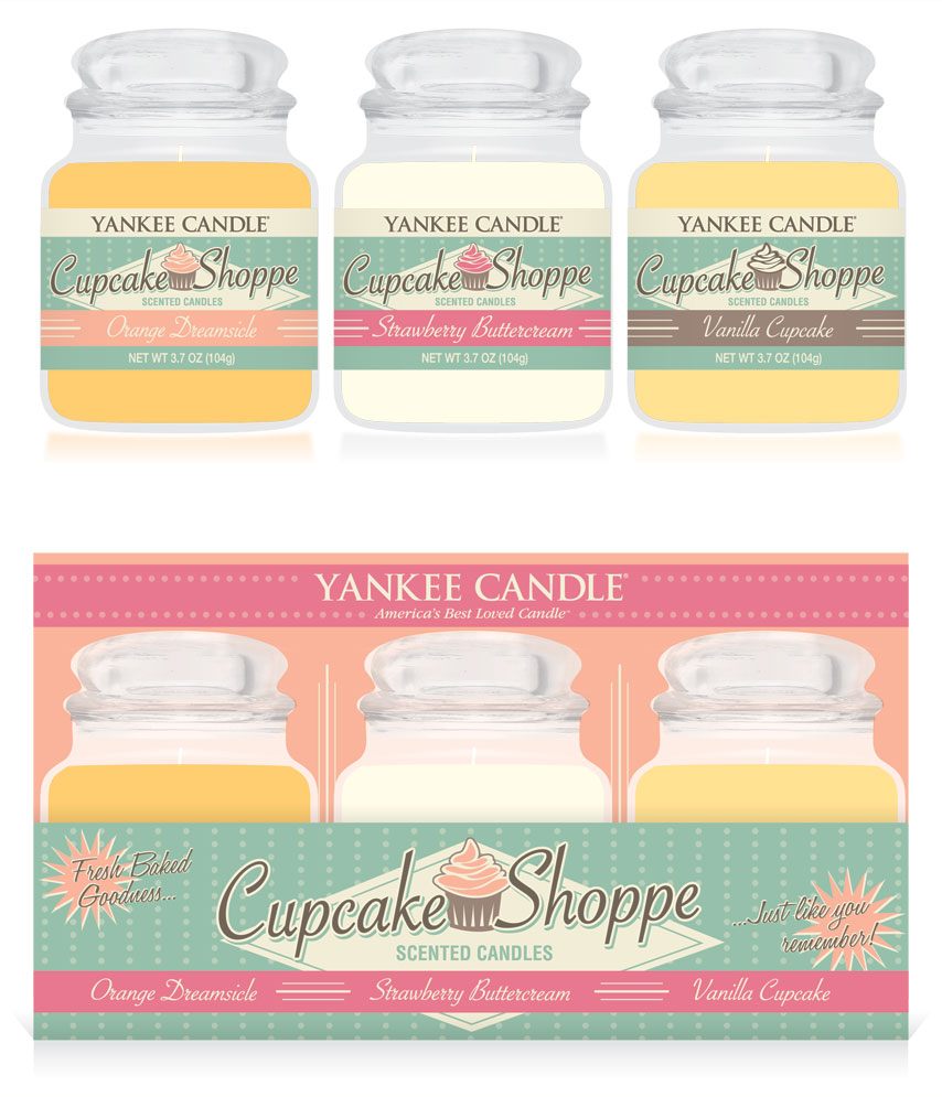 Retro Packaging: Cupcake Shoppe